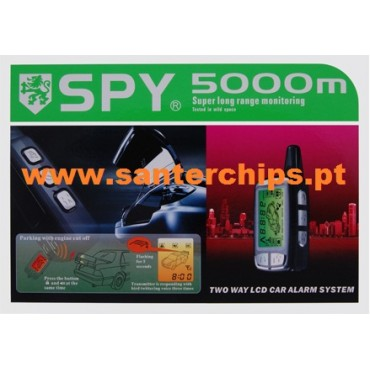 SPY Pager 5000m Alarm (NEW MODEL 2014)